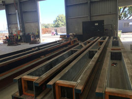 Slabs being made in our factory