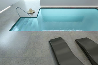 Amazing concrete pool
