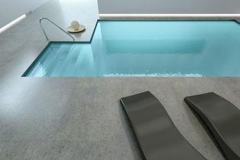 Amazing concrete pool