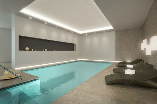 Amazing looking cheap concrete pool