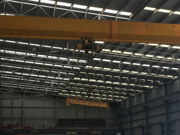 Concrete Warehouse Crane