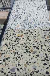 Aggregate bench top