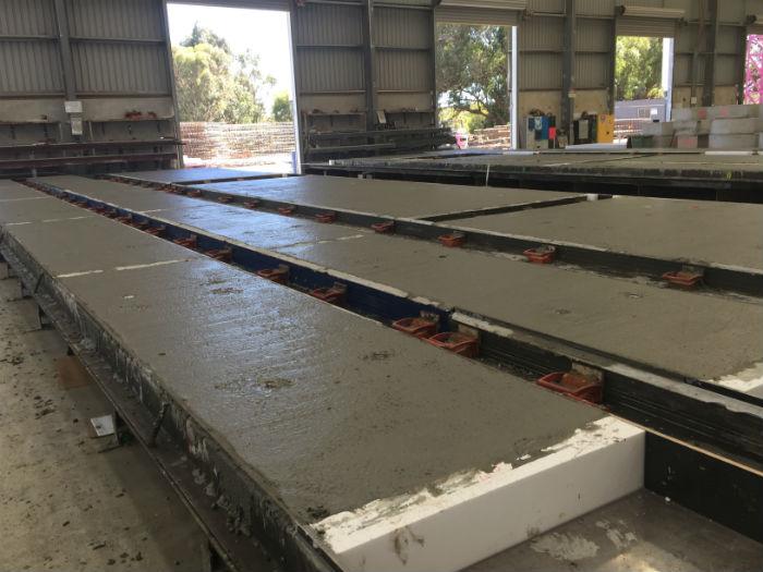 Setting Concrete Precast