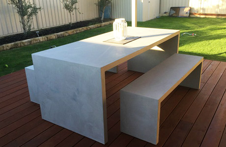 Outdoor Concrete Furniture